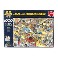 "Jumbo (17014) - Jan van Haasteren: ""The Office"" - 1000 brikker puslespil"