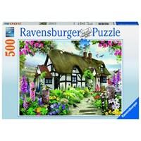 """Ravensburger (14709) - """"Fairy Cottage"""" - 500 brikker puslespil"""