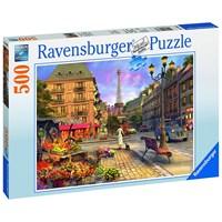 "Ravensburger (14683) - ""Walk in Paris"" - 500 brikker puslespil"