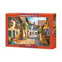 """Castorland (C-103744) - """"Rue de Village"""" - 1000 brikker puslespil"""