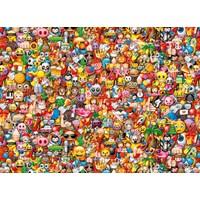 "Clementoni (39388) - ""Emoji"" - 1000 brikker puslespil"