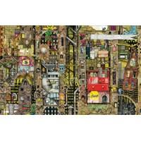 "Schmidt Spiele (59355) - Colin Thompson: ""Townscape"" - 1000 brikker puslespil"