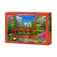 "Castorland (B073S4BRP6) - Dominic Davison: ""Fuji Lake"" - 1500 brikker puslespil"