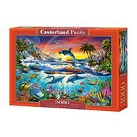 "Castorland (C-300396) - ""Paradise Cove"" - 3000 brikker puslespil"